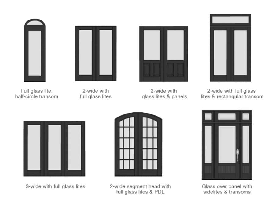 19. Learn your door configurations - 50 Amazingly Clever Cheat Sheets To Simplify Home Decorating Projects