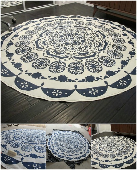 Fantastic 30 Magnificent Diy Rugs To Brighten Up Your Home Diy Crafts Home Interior And Landscaping Ponolsignezvosmurscom