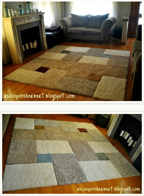 Mix 'n Match - 30 Magnificent DIY Rugs to Brighten up Your Home