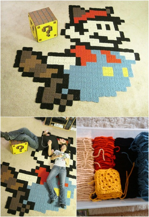 Perfect Pixel - 30 Magnificent DIY Rugs to Brighten up Your Home