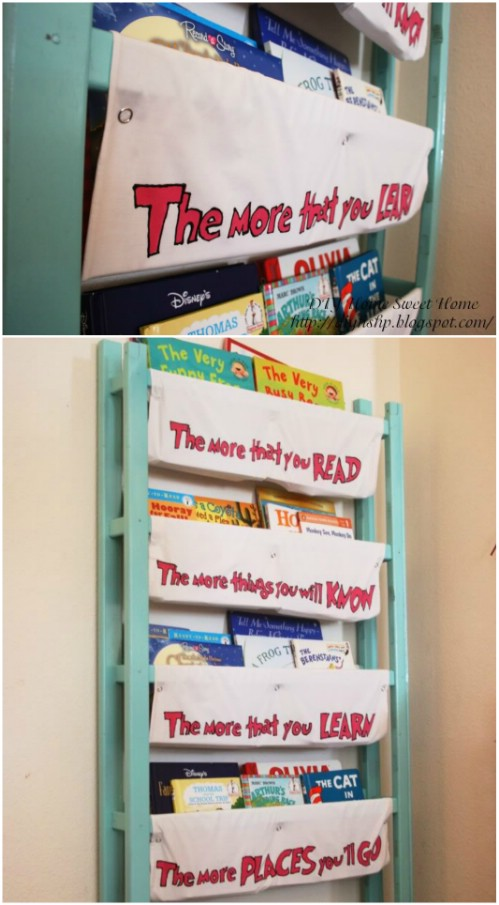 Book/Magazine Rack - 20 Delightfully Creative and Functional Ways to Repurpose Old Cribs