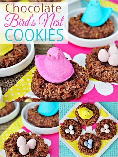 Peep Nest Cookies