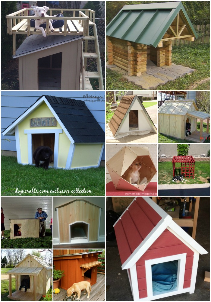 15 Brilliant DIY Dog Houses With Free Plans For Your Furry Companion - Really cute projects with guaranteed free plans!!