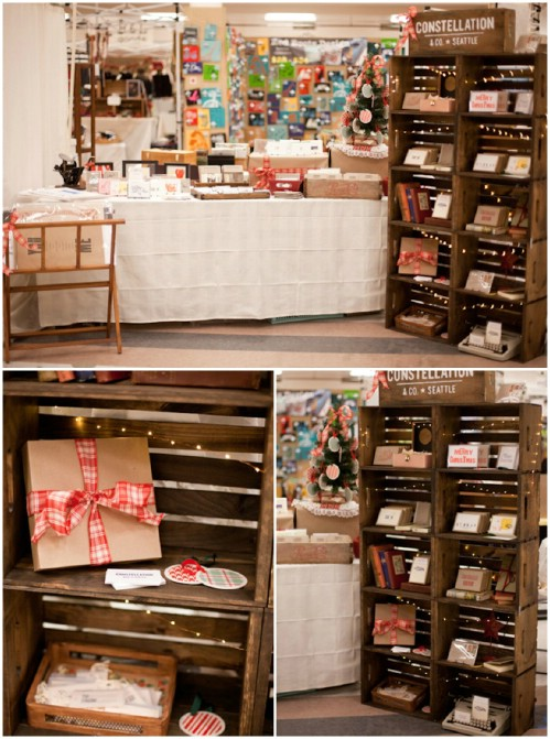 Apple crate shelves - 50 Decorative Rustic Storage Projects For a Beautifully Organized Home