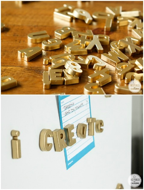 Magnetic Fridge Letters