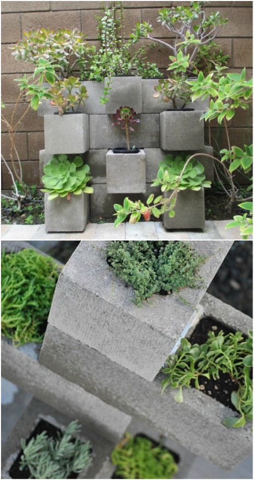 17 Creative Ways To Use Concrete Blocks In Your Home Diy