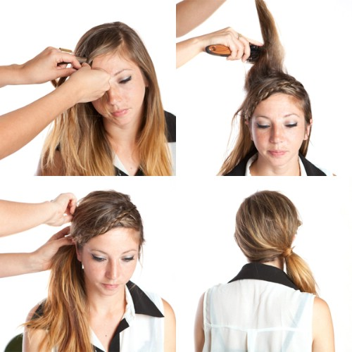 The Braided Side Ponytail