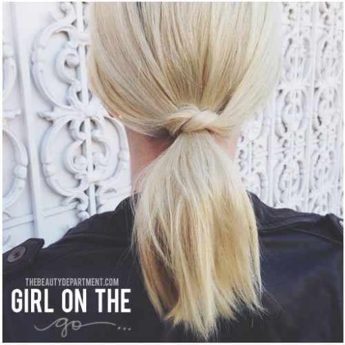 The Small-Knotted Ponytail