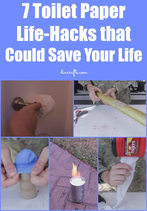 7 Toilet Paper Life-Hacks that Could Save Your Life...