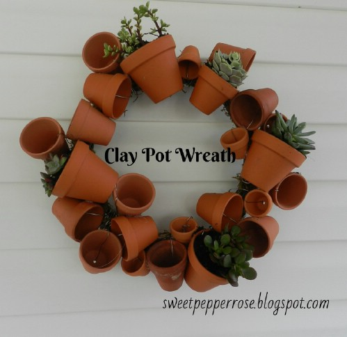 Mini Pot Wreath