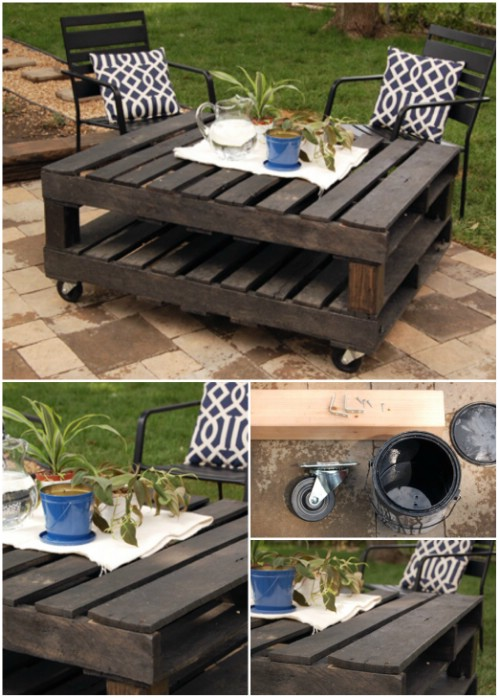 Groovy 35 Ingenious Outdoor Pallet Projects For All Types Of Diyers Download Free Architecture Designs Terchretrmadebymaigaardcom