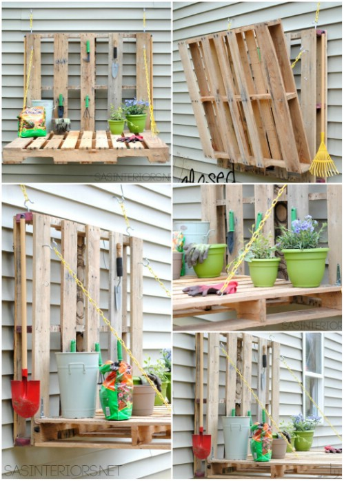 Gardening Fold-Out Table