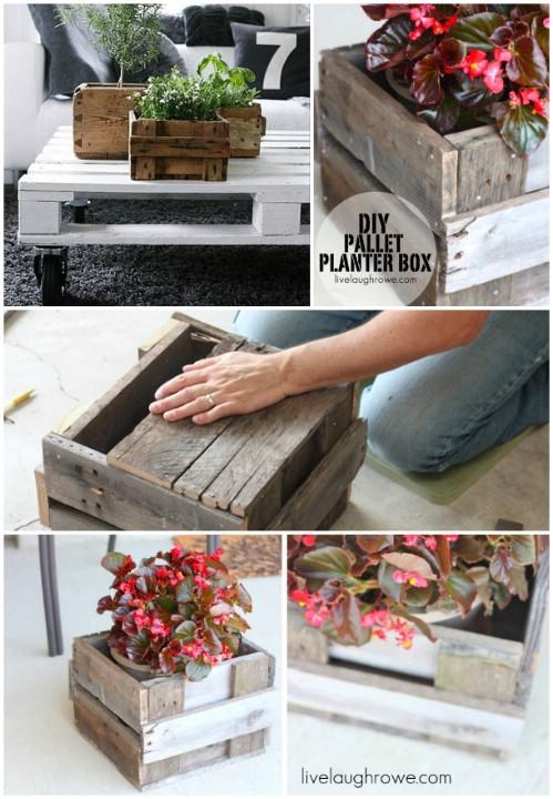 Single Planter Box