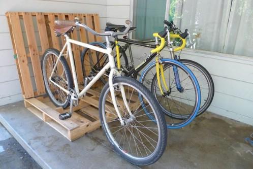 The Lazy Bike Rack