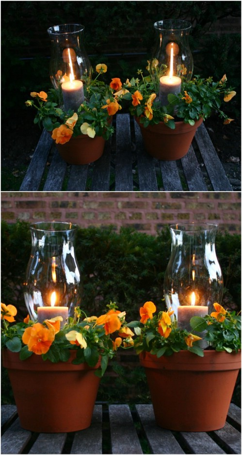 Plant Pot-Meets-Lantern