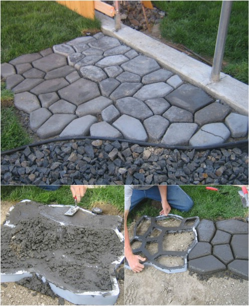 Make your own cobblestones.