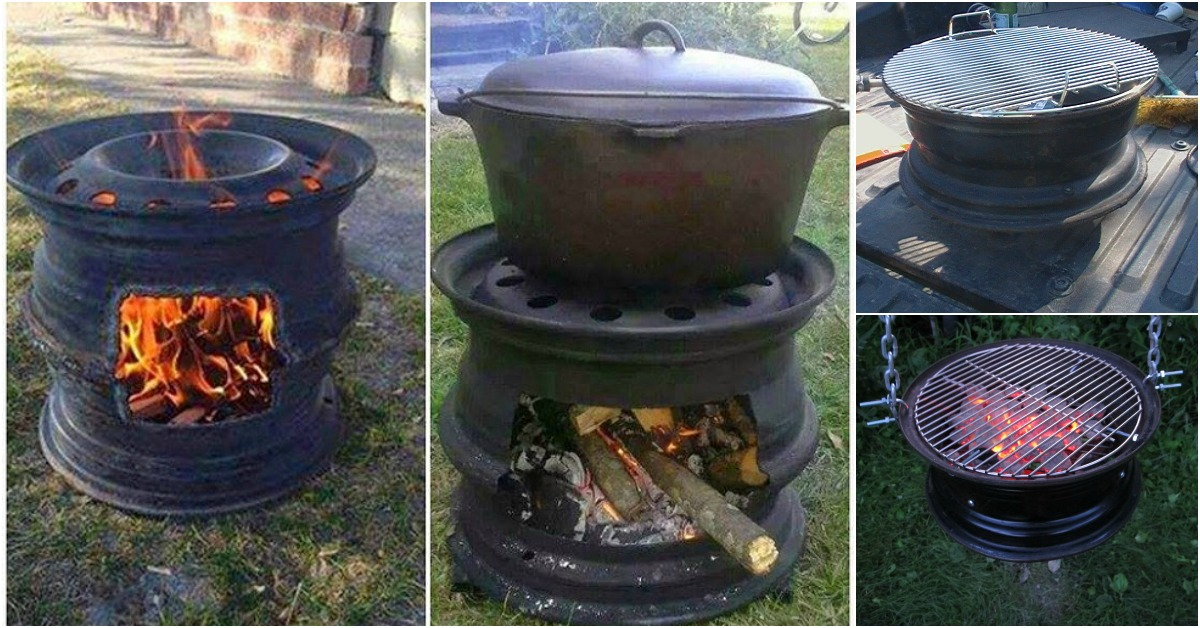 Repurposing At Its Finest How To Make Your Own Bbq Grill From Car