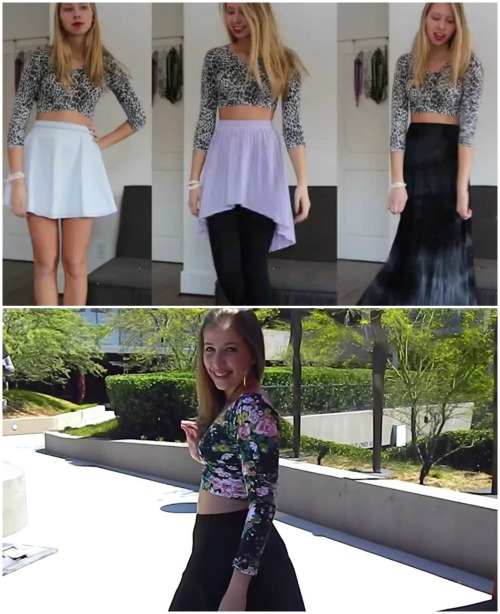 Repurposing Quickie: How to Turn Leggings into a Top with Just One Snip...