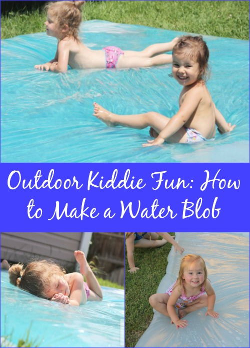 Outdoor Kiddie Fun: How to Make a Water Blob...
