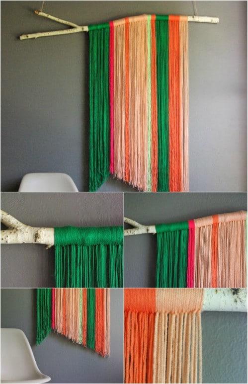 Hanging Yarn Art