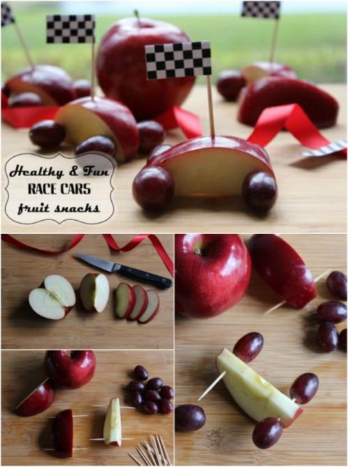 Fruity Race Cars