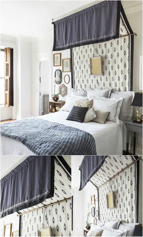 Tiered Canopy & Sleep in Absolute Luxury with these 23 Gorgeous DIY Bed Canopy ...