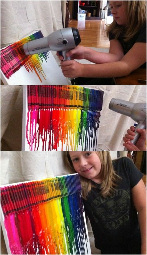 Dripping Crayons