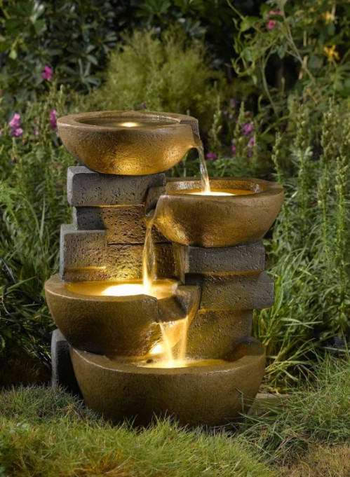 To Buy: Light-Up Pot Fountain