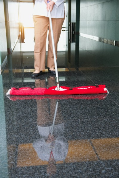 Make your own floor cleaner.