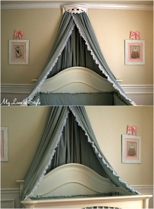 Sleep In Absolute Luxury With These 23 Gorgeous Diy Bed Canopy Projects Diy Crafts