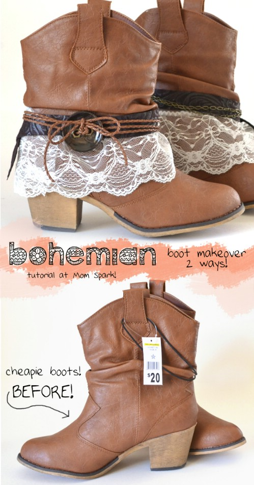 Boho-ify Your Boots