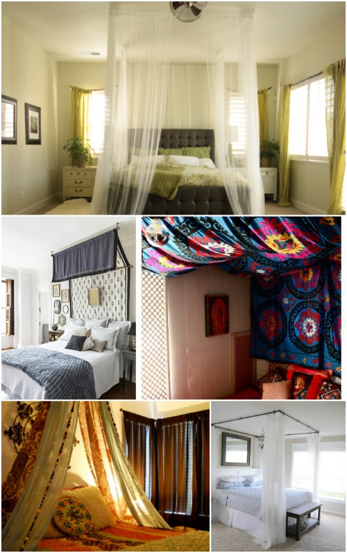Sleep in Absolute Luxury with these 23 Gorgeous DIY Bed Canopy Projects