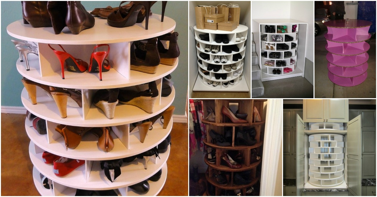 How To Build Your Own Lazy Susan For Shoes Diy Amp Crafts