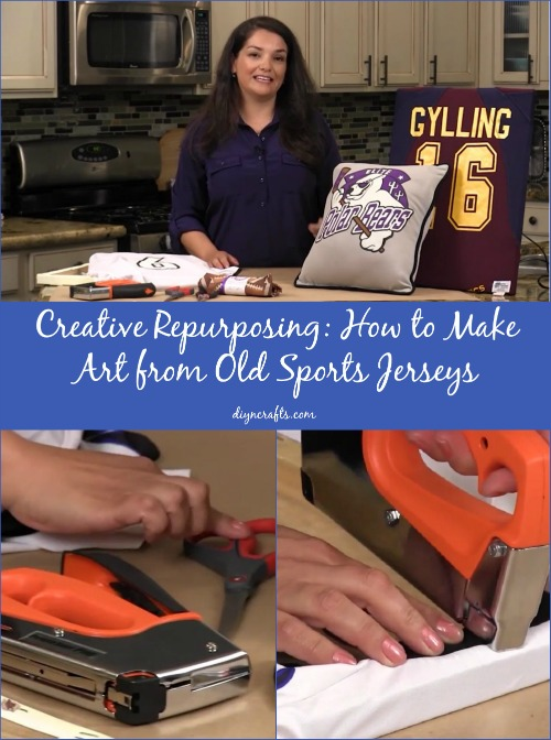 Don't Throw Out Your Kids' Old Sports Jerseys – Turn Them Into Timeless Art!