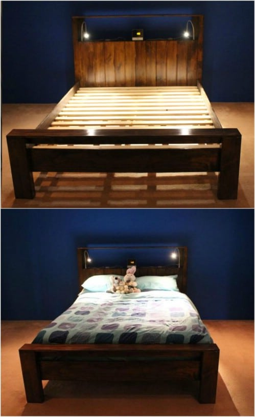 21 Diy Bed Frame Projects Sleep In Style And Comfort Crafts