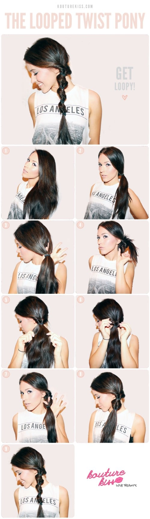 Looped Twist Ponytail