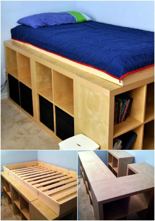 Clever Storage Bed