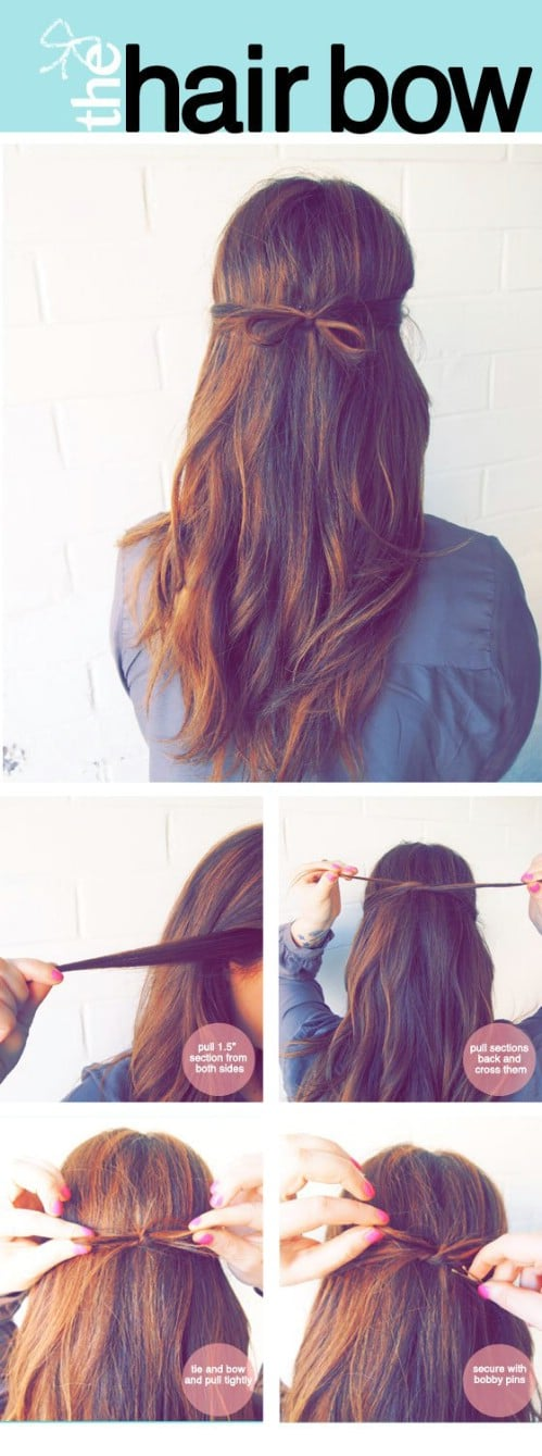 20 Gorgeous 5 Minute Hairstyles To Save You Some Snooze Time