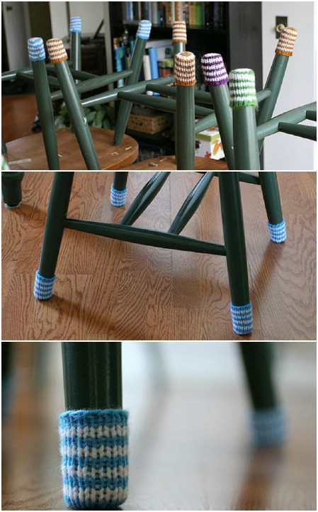 Legwarmers for your chairs