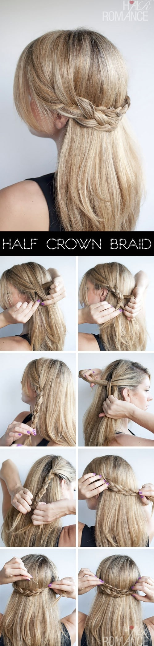 5 Gorgeous 5-Minute Hairstyles to Save You some Snooze Time - DIY