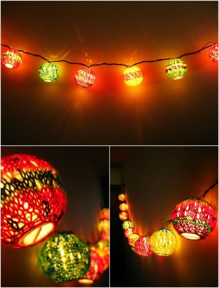 Make some colorful lanterns