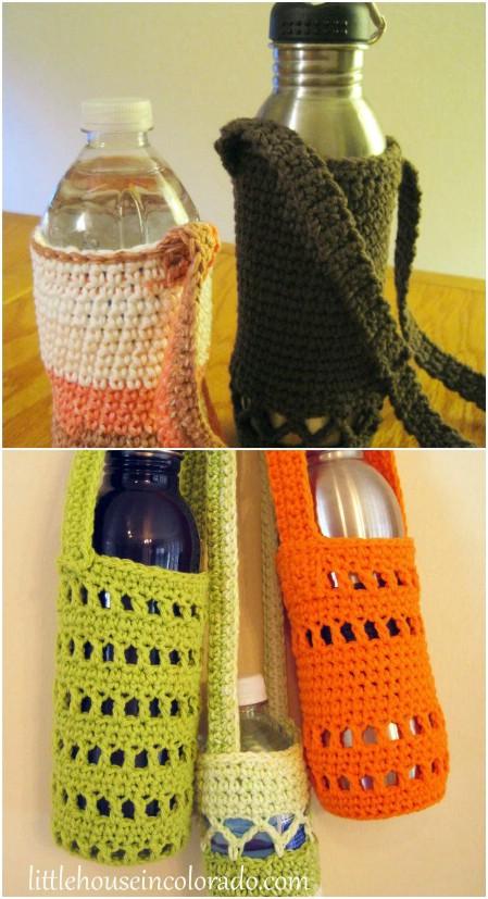 Water bottle carriers