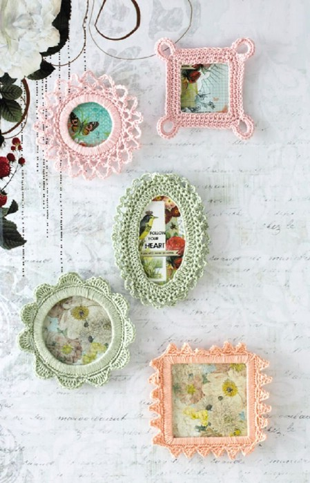 Crochet a picture frame