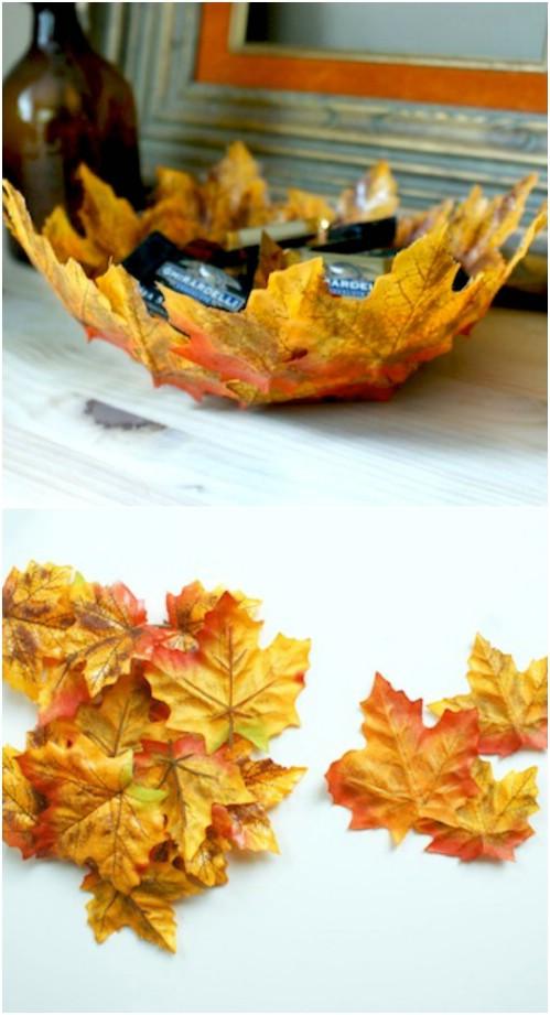 Fall Leaf Bowl