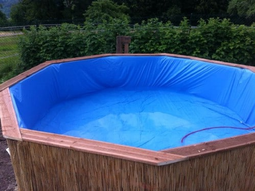 How Make Your Own Pallet Pool – Beat the Heat and Splash Around in Style! - Step 6