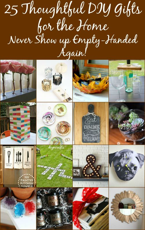 25 Thoughtful DIY Gifts for the Home – Never Show up Empty-Handed Again!