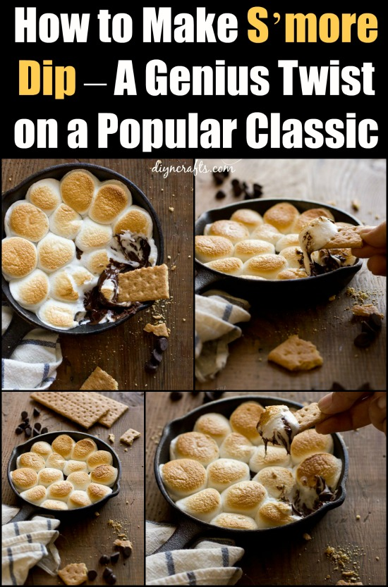 You'll Be Begging For Some More Of This S'more Dip The Second It Hits Your Lips!