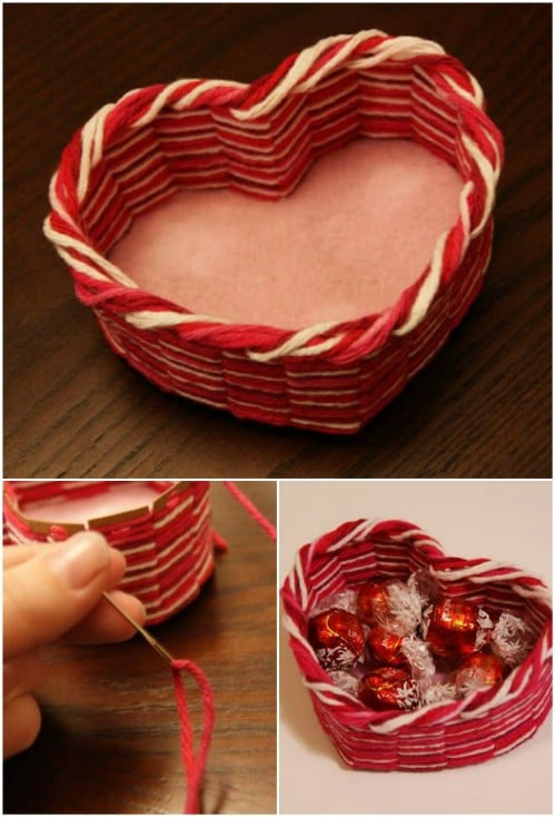 Yarn Heart Box