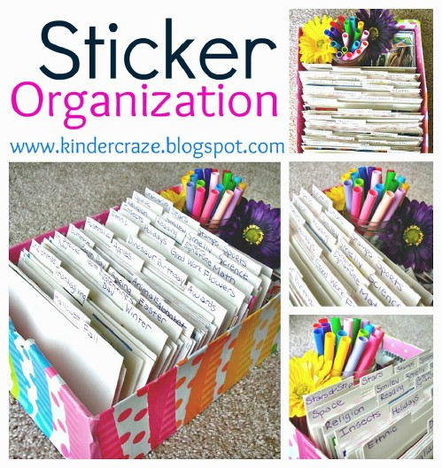 Sticker Organizer