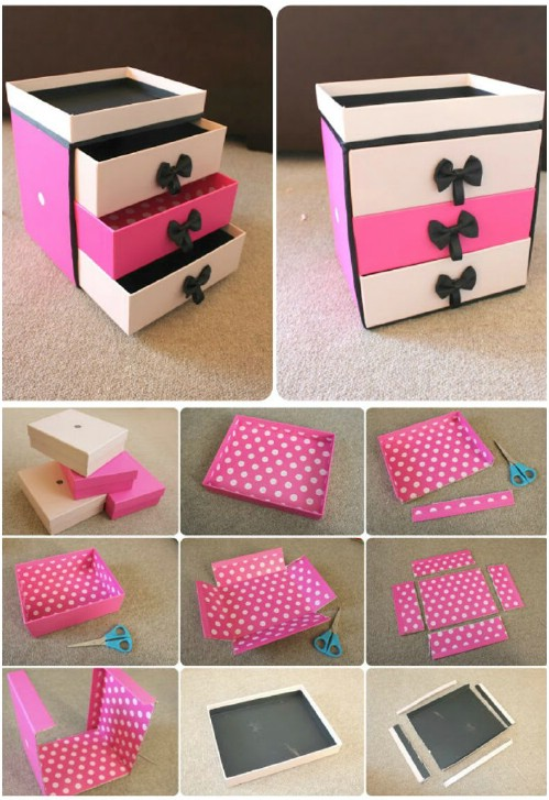 Beauty Box Drawers